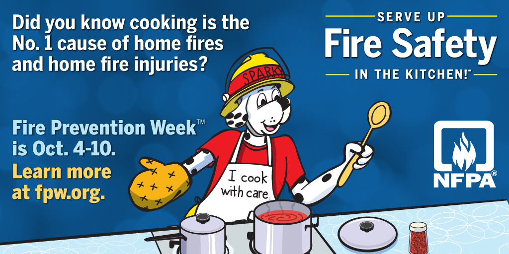 NFPA Announces 2020 Fire Prevention Week Theme - National Volunteer Fire  Council